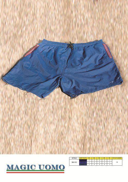 Pantaloncino uomo mare